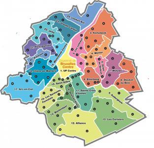 Bruxelles - Les Unités Pastorales