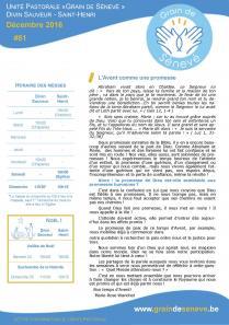 Décembre 2016 - Nouvelle identité visuelle pour l'Unité Pastorale