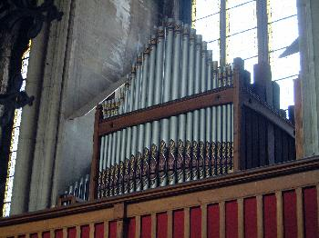 Église Saint-Henri - Orgue en place